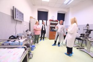 CJT a dotat cu aparatură medicală Maternitatea Odobescu