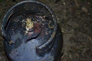 O butelie a explodat într-un bloc din Timișoara