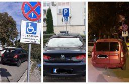 Sancțiuni mai mari și ridicarea autovehiculului dacă staționați pe locurile destinate persoanelor cu dizabilități