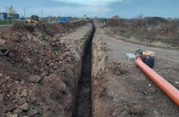 Reţeaua de canalizare din Giarmata, extinsă cu 10,5 km
