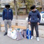 Migranți depistați de polițiștii locali pe malul Canalului Bega