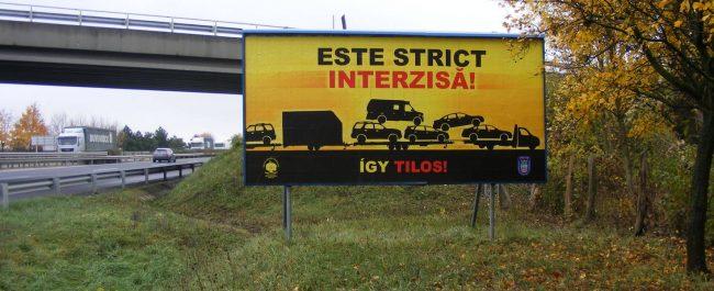 Speriaţi de accidentele provocate de şoferii români, ungurii iau măsuri