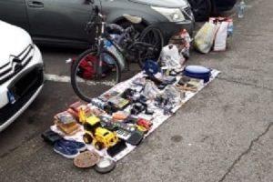 O nouă razie a poliţiştilor locali în zona Pieței Flavia