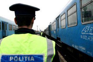 Razie a Poliţiei Transporturi. Ce au în vizor oamenii legii