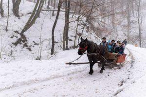 Turism de iarnă în satele bănățene