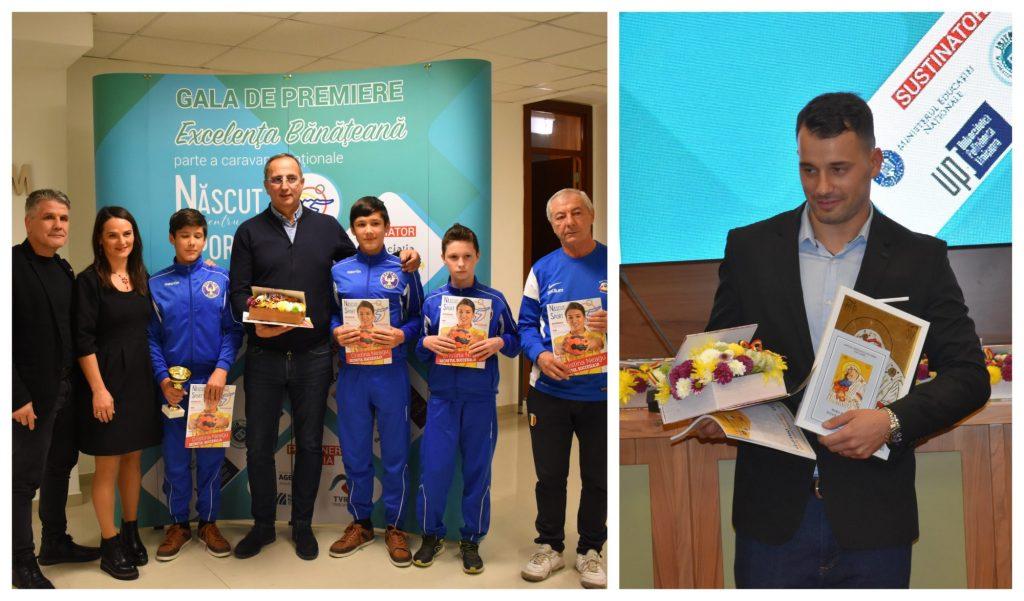 Premii pentru sportivii Clubului Phoenix Buziaș și handbalistul Cristian Fenici
