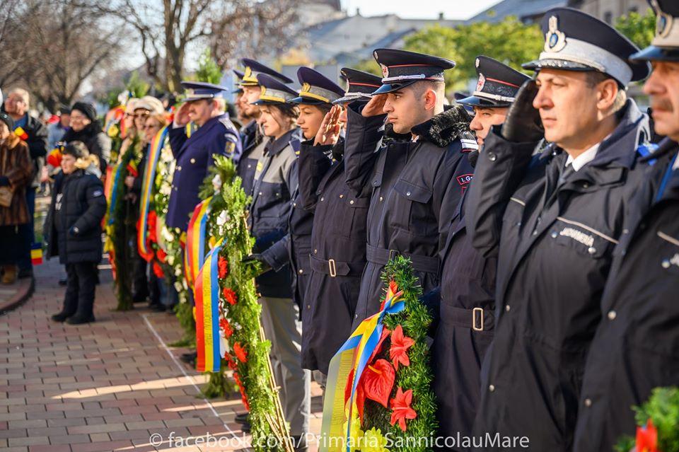 Ziua Națională a României sărbătorită cu fast la Sânnicolau Mare