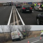 Accident rutier pe DN 6, între localitățile Remetea Mare și Timișoara