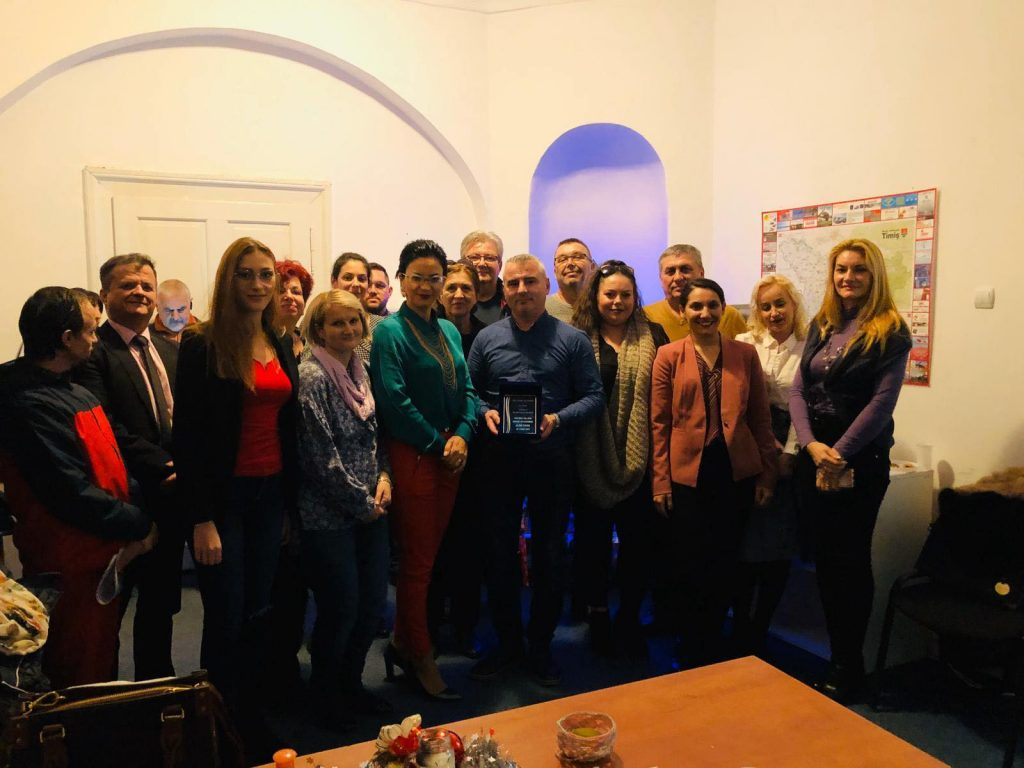 Petrecere surpriză la sediul ALDE Timiș