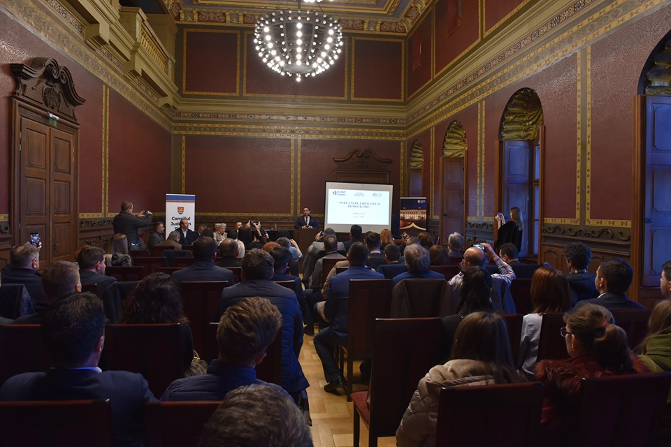 "La 30 de ani de la revoluție, la Timișoara a fost lansată platforma ""Orizont 2030""!"