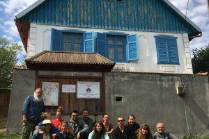 Galeria Primăriei Timișoara găzduiește picturile a 17 artişti din Tabăra de creație Gernik Art Camp