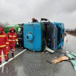 Accident pe Centura ocolitoare a Lugojului