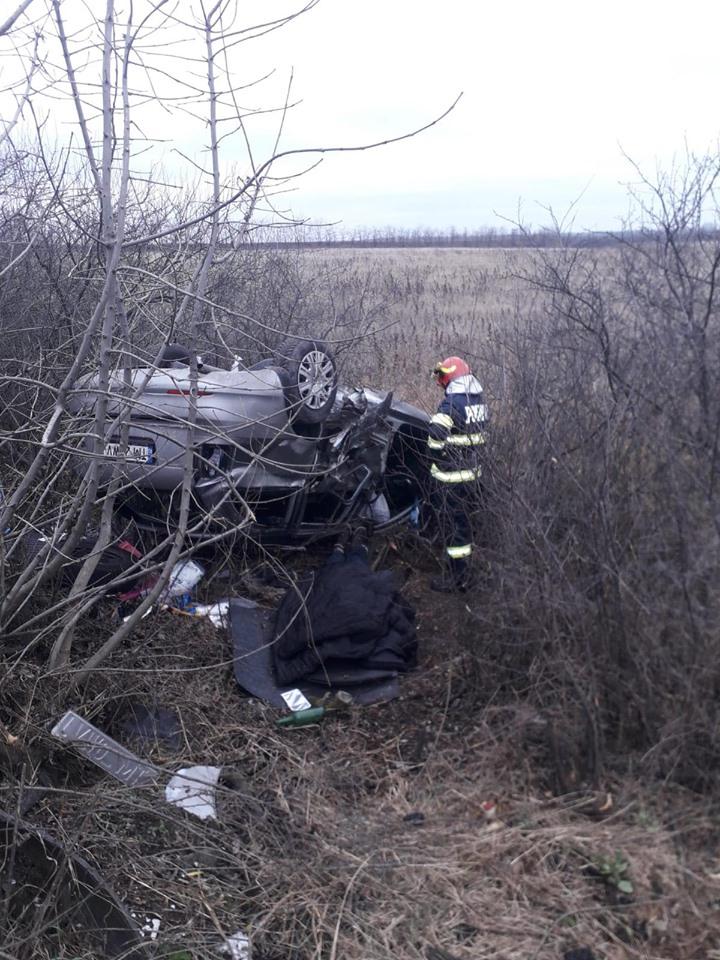 Accident grav lângă Pişchia, un om şi-a pierdut viaţa