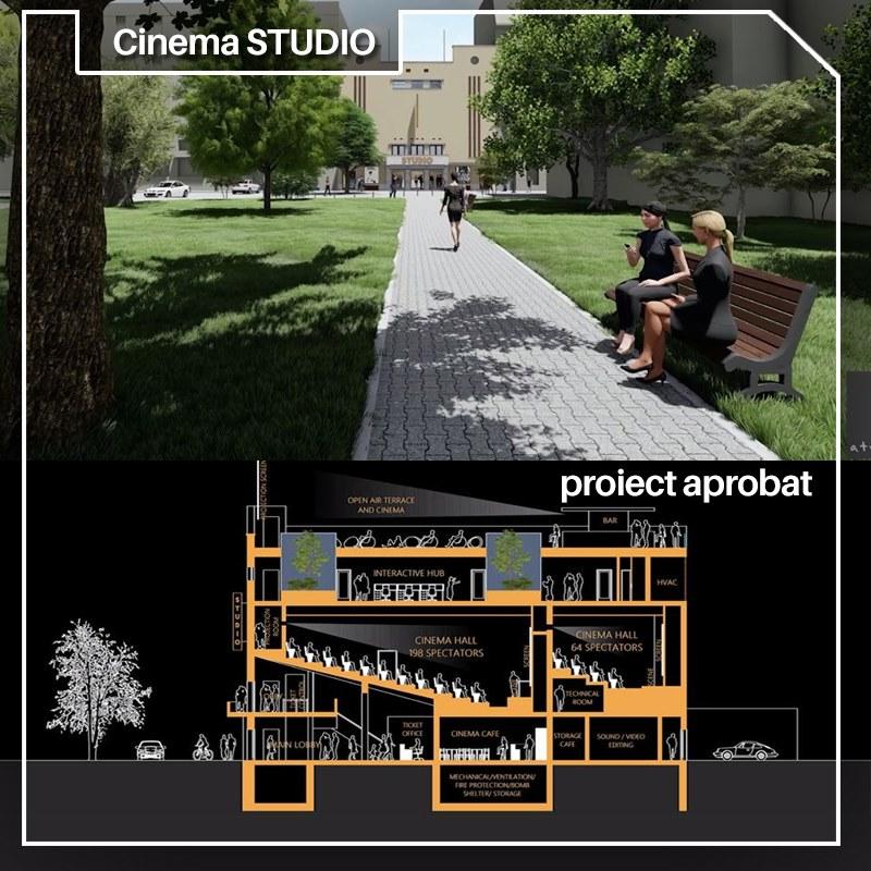 Consiliul Local a aprobat investiția privind reabilitarea Cinematografului Studio