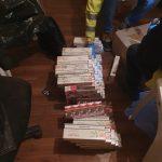 Milioane de țigări de contrabandă, descoperite de polițiști în Timiş şi Arad