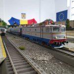 Trenulețe și gări în miniatură expuse la Timișoara