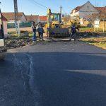 Primul asfalt pe Drumul Vinului