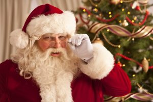 Moș Crăciun vine la copiii din Buziaș