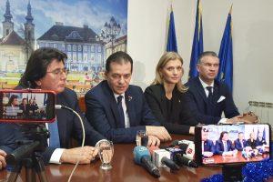 """PSD: """"Liberalii din Arad și Caraș-Severin dictează numirile în Timiș. Robu – zero influență politică la centru"""""""