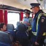 Acţiuni de prevenire a furturilor în trenuri și gări
