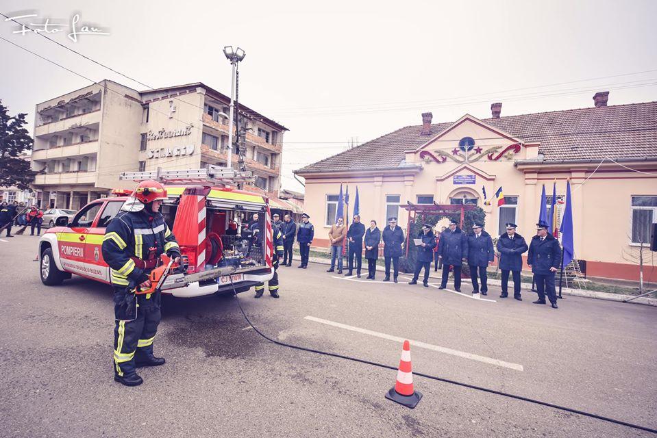 Dotare importantă pentru Stația de Pompieri Buziaș