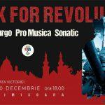 Rock for Revolution în Piaţa Victoriei. Concerte cu Cargo, Phoenix, Pro Musica şi Sonatic