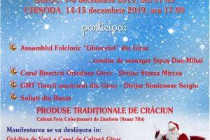Târguri de Crăciun la Giroc şi Chişoda