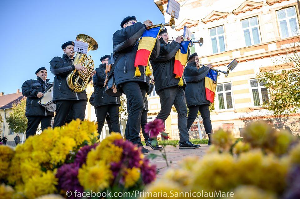 Foto. Ziua Națională a României, sărbătorită la Sânnicolau Mare