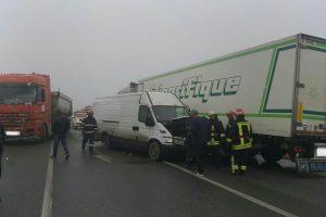 Accident pe centura ocolitoare a municipiului Lugoj