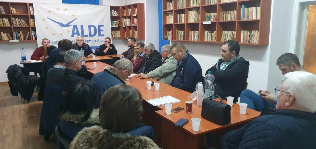 Valentin Tudorică ales prim-vicepreședinte al filialei ALDE Timiș