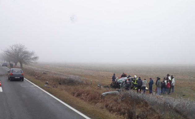 Accident la Chevereșu Mare