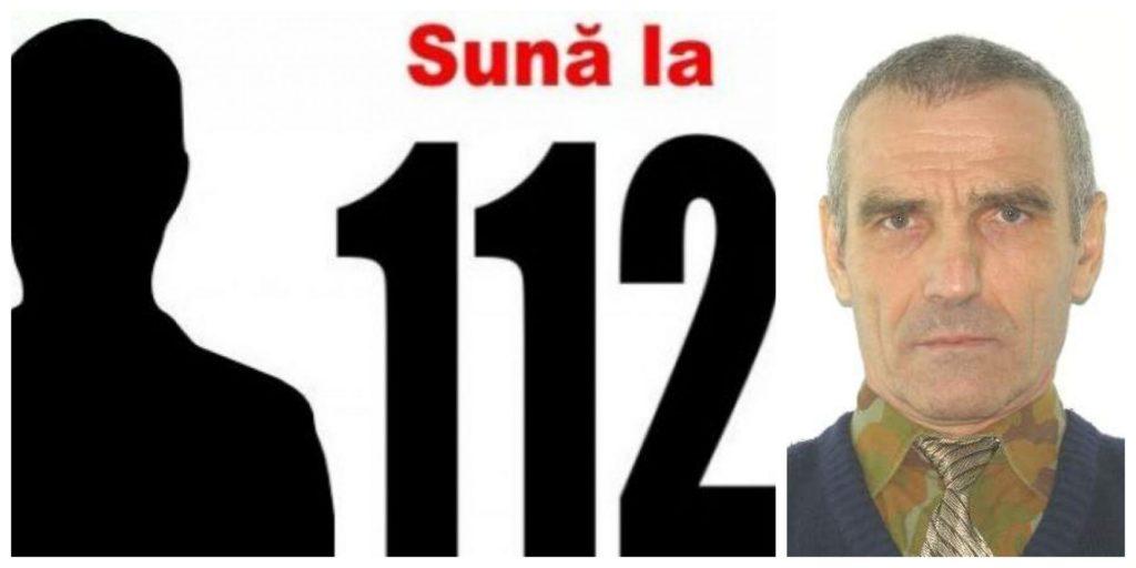 Bărbat dispărut din Arad. Sună la 112 dacă îl vezi!