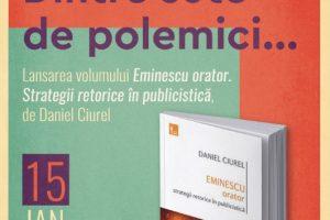 Între poezie și… polemici. Eminescu, omagiat la Biblioteca UPT