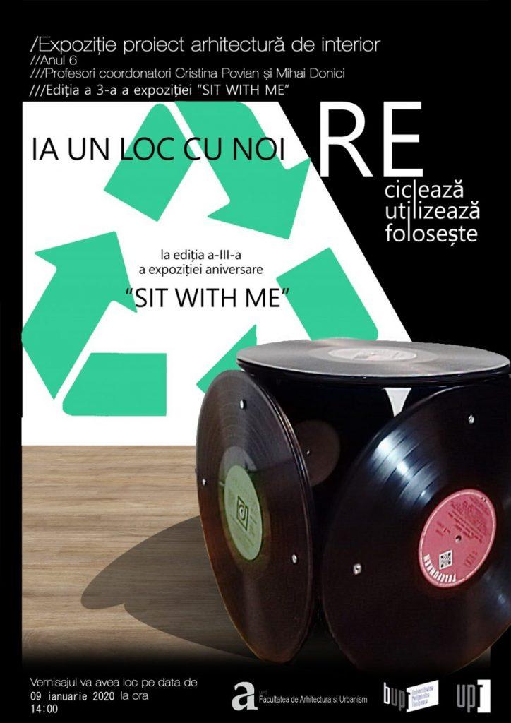 """Scaune eco, la cea de-a III-a ediție a expoziției """"Sit with me"""""""