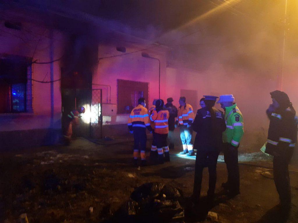 Protecția Copilului îi monitoriza pe cei patru copii decedați în incendiu noaptea trecută
