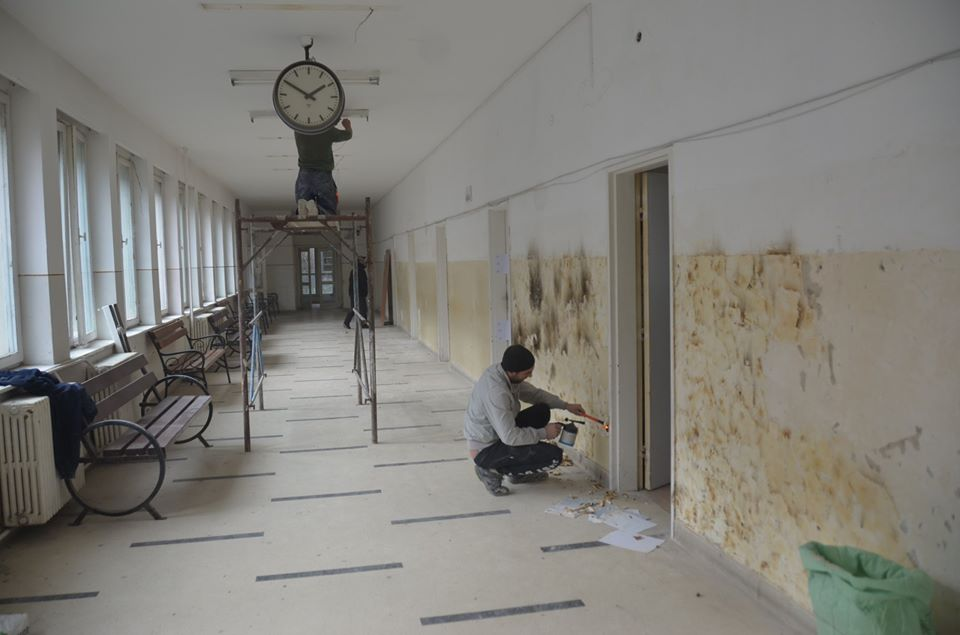 Au început lucrările la ambulatoriul Spitalului Municipal din Caransebeș