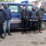 Şase migranţi, opriţi la frontiera cu Ungaria