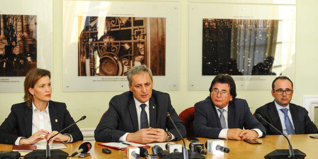 Marcel Vela, prezent la Timișoara la învestirea în funcție a noului prefect