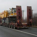 Transport agabaritic pe ruta Borș PTF – Calafat PTF