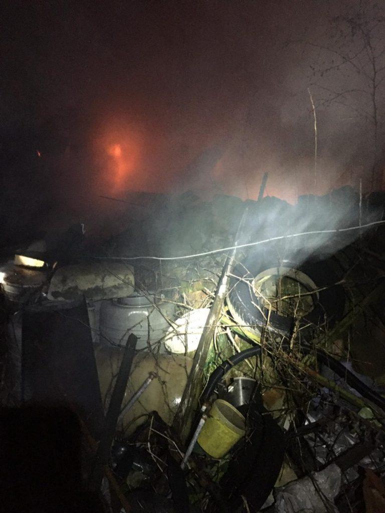 Doi barbati au murit intr-un incendiu
