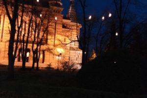 Metoda inedită a autorităților de a alunga ciorile din parcul Catedralei