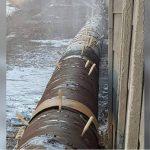 Cum a fost reparată o conductă de alimentare cu apă din vestul ţării