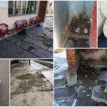 Scări măcinate, toalete insalubre și pereţi cu mucegai în gările din România
