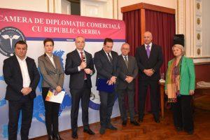 Camera de Diplomație Comercială cu Republica Serbia și-a deschis sediu la Timișoara
