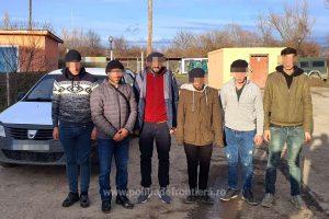 Şase migranţi turci şi sirieni, depistaţi la frontiera cu Serbia