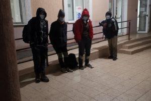 Patru migranți depistați de polițiștii locali lângă Parcul Scudier