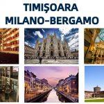 Zboară din Timișoara către Milano-Bergamo cu Ryanair sau Wizz Air! Atracţiile oraşului italian