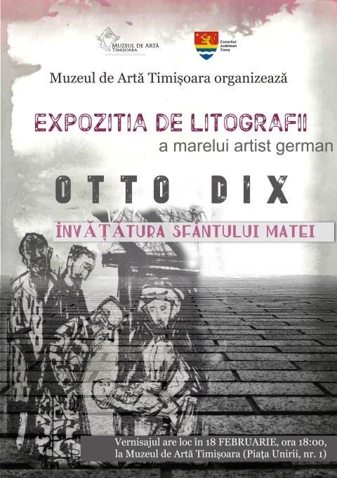 Expoziție de litografii a unuia dintre cei mai importanți artiști germani la Muzeul de Artă