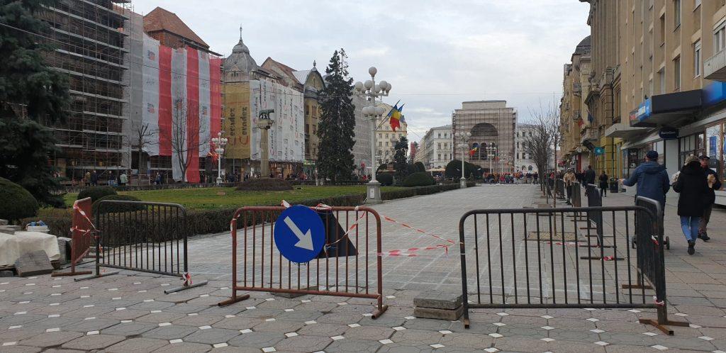 Municipalitatea reziliază contractul pentru reabilitarea Pieței Victoria