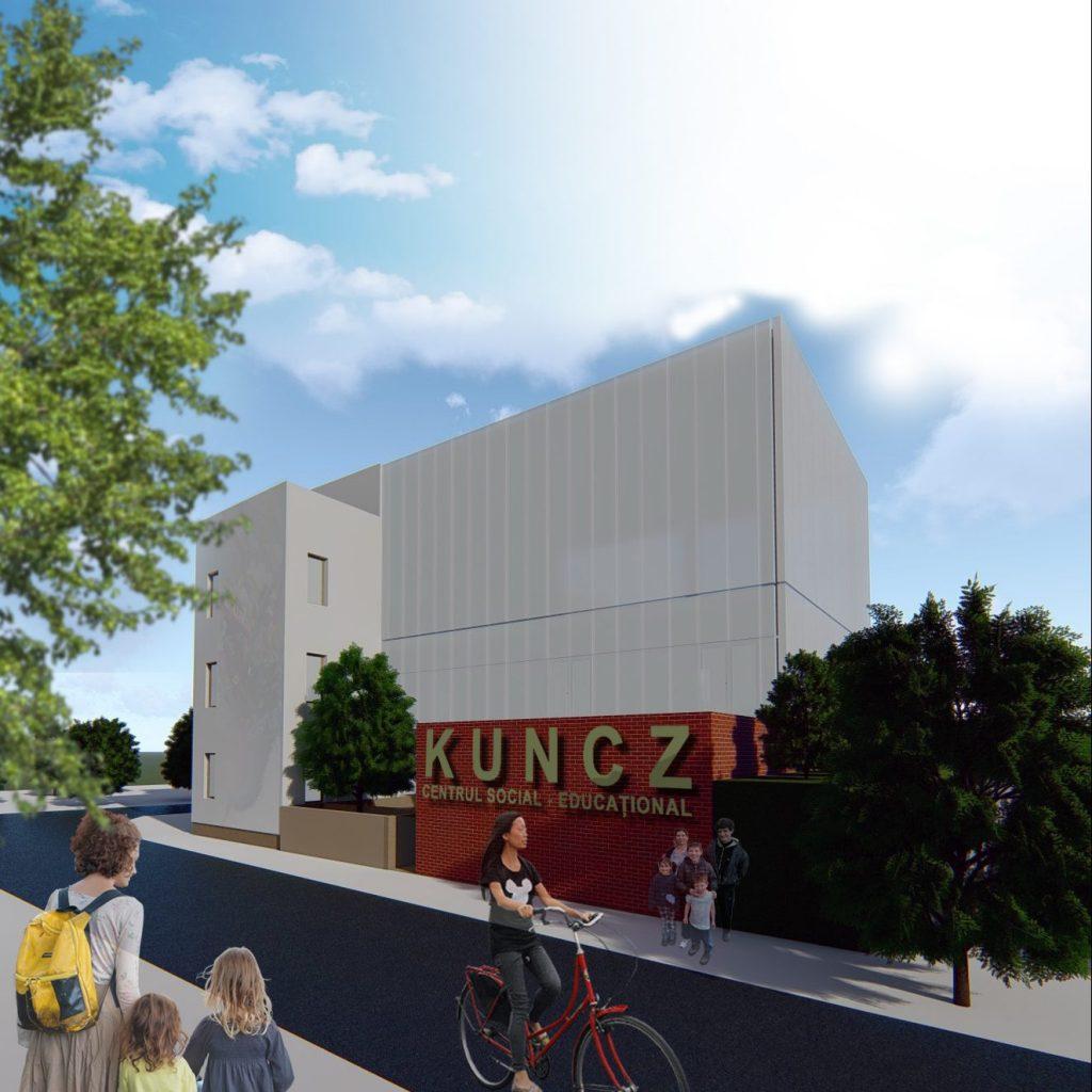 Centru cultural-educaţional pentru copiii din cartierul Kuncz